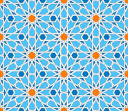 Islamic Geometric Seamless Pattern. Turkish Ornament, Traditional Oriental Arabic Art. Muslim Mosaic. Colorful Vector