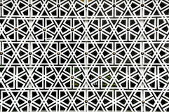 Islamic geometry pattern at Masjid Negara Wall Stock Images