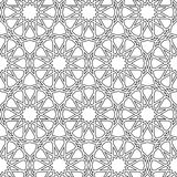 Islamic girih pattern background Royalty Free Stock Photography
