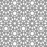 Islamic girih pattern background Stock Images