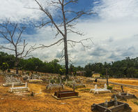 Islamic grave yard. The stage before final destination Stock Photo