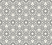 Islamic inspired seamless pattern vector Royalty Free Stock Photo