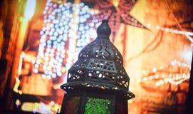 Islamic lantern Stock Image