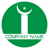 Islamic logo Stock Photo
