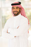 Islamic man indoors Royalty Free Stock Photography