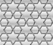 Islamic Metal Pattern Background Stock Image