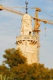 Islamic Minaret in Jerusalem, Israel Stock Image