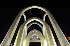 Islamic monument in Doha Royalty Free Stock Photos