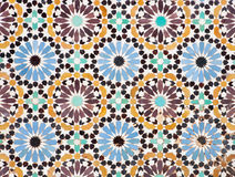 Islamic Mosaic. Nice detail of an islamic mosaic floor, a bit run down, but still showing the beauty of Islamic art Royalty Free Stock Images