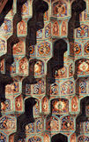 Islamic mosaic - 2. Fragment of a wall of a mosque in Saint Petersburg Royalty Free Stock Images