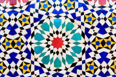 Islamic mosaic Moroccan style useful as background Royalty Free Stock Photos