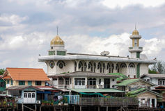 Islamic Mosque on the Chao Phraya River Stock Photography