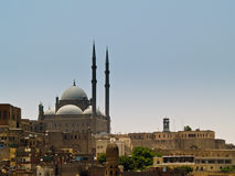 Islamic Mosque in Egypt. Islamic Mosque on a hill top in Egypt Stock Image