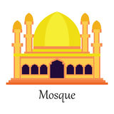 Islamic Mosque / Masjid for Muslim pray icon Royalty Free Stock Photography