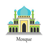 Islamic Mosque / Masjid for Muslim pray icon Royalty Free Stock Image