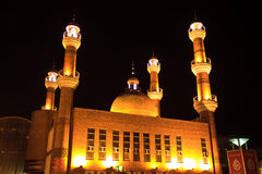 Islamic mosque in Urumqi, Xinjiang China Stock Photography