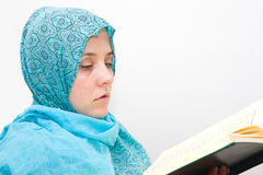 Islamic muslim woman Stock Photos