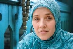 Islamic muslim woman Stock Image