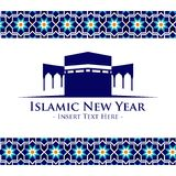 Islamic New Year Vector Template Royalty Free Stock Image