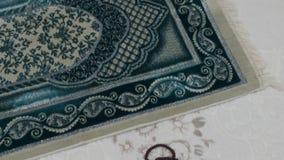 Islamic objects, prayer beads for prayer and prayer rugs,