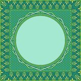 Islamic ornament art for graphic design element royalty free stock image