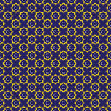 Islamic ornament. Background with seamless pattern. Vector illustration stock image