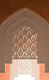 Islamic ornamentic. Arabic structure and architecture detail Royalty Free Stock Photo