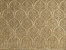 Islamic ornaments on a wall Stock Photography