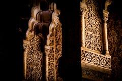 Islamic Palace Interior Royalty Free Stock Image