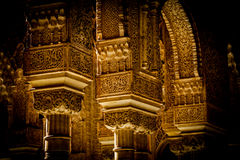 Islamic Palace Interior Royalty Free Stock Photography