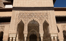 Islamic Palace Interior Royalty Free Stock Photo