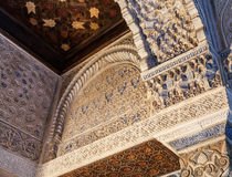 Islamic Palace Interior Stock Photo