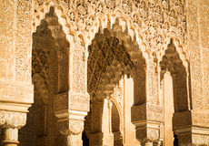 Islamic Palace Interior Royalty Free Stock Images
