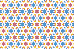 Islamic pattern 01. An islamic pattern that can be used for tiling Stock Photo
