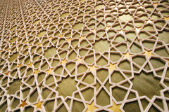 Islamic pattern. On a wall