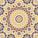 Islamic pattern. Background with seamless pattern in islamic style Royalty Free Stock Images