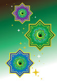 Islamic pattern. Classic Islamic Pattern Graphic Icon Royalty Free Stock Photography