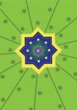 Islamic pattern. Classic Islamic Pattern Graphic Icon Royalty Free Stock Image