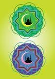 Islamic pattern. Classic Islamic Pattern Graphic Icon Stock Photos