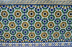 Islamic pattern design. An example of Islamic design cast in concrete on a building in Putrajaya, Malaysia royalty free stock photography