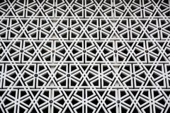 Islamic pattern. Facade of national mosque of Malaysia royalty free stock photos