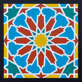 Islamic pattern in a frame Stock Photography