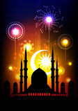 Islamic pattern for Muslim celebration Royalty Free Stock Image