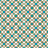 Seamless islamic pattern and background vector illustration Stock Photo