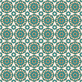Seamless islamic pattern and background vector illustration Stock Images
