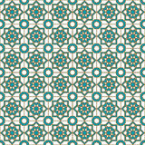 Seamless islamic pattern and background vector illustration Royalty Free Stock Photography