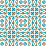 Seamless islamic pattern and background vector illustration Royalty Free Stock Image