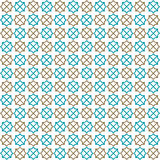 Seamless islamic pattern and background vector illustration Royalty Free Stock Photos