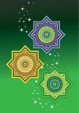 Islamic pattern Stock Photography