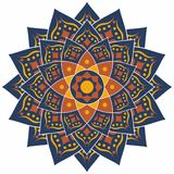 Islamic Pattern, Traditional Pattern. With Blue Design Stock Photography